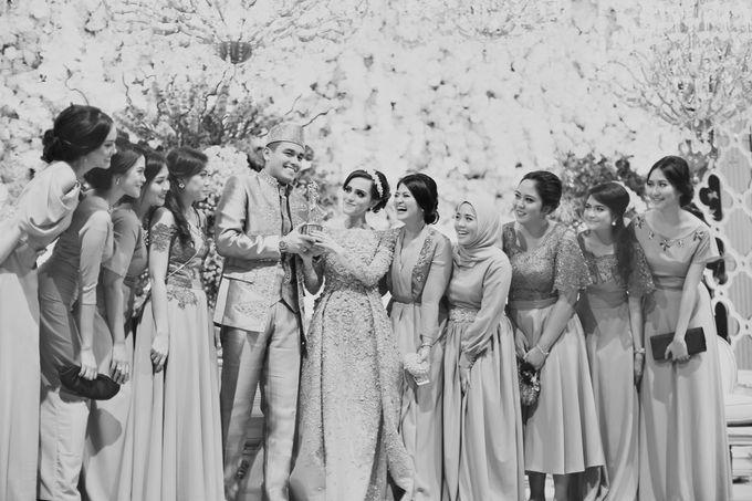 Saffana & Harish Wedding Reception by JAYSU Weddings by Jacky Suharto - 022