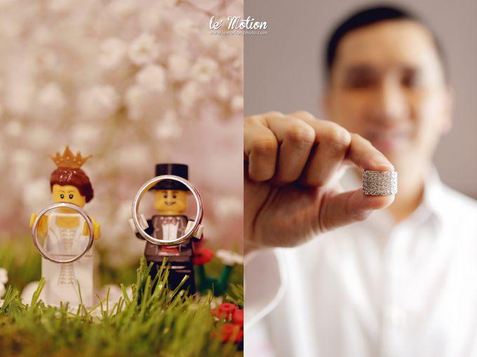 Tisya & Ferry - International Wedding by Imelda Hudiyono Bride - 004
