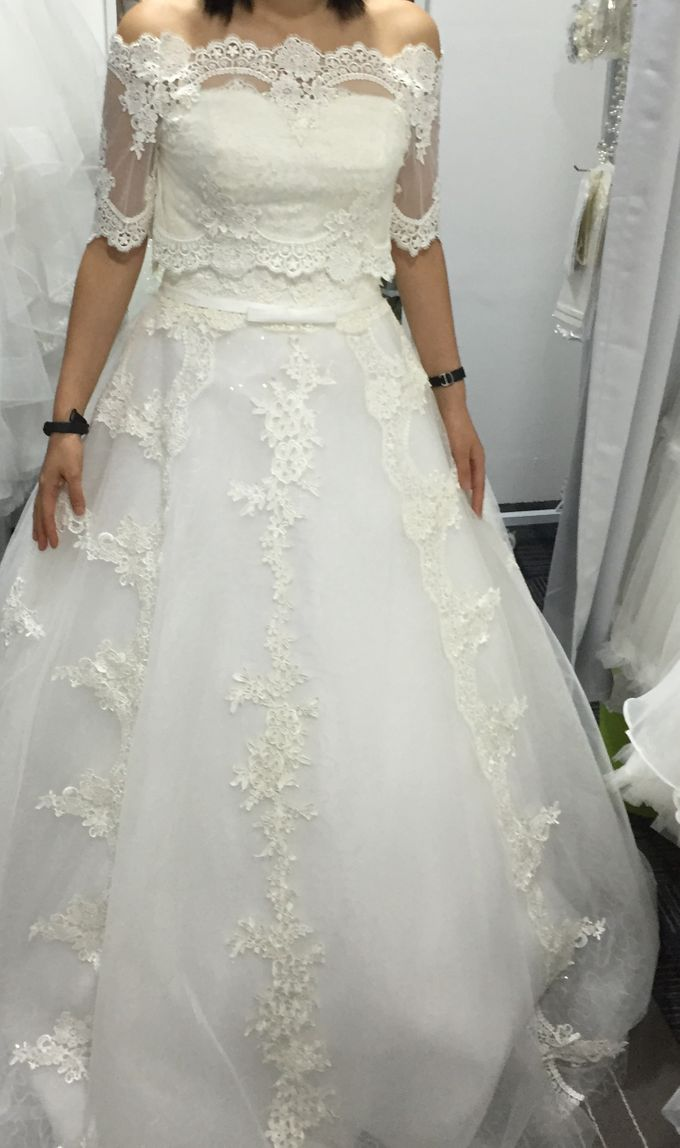 Beautiful Bridal Gowns by Makeupwifstyle - 002
