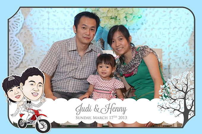 The Wedding of Judy & Henny by After 5 Photobooth - 016