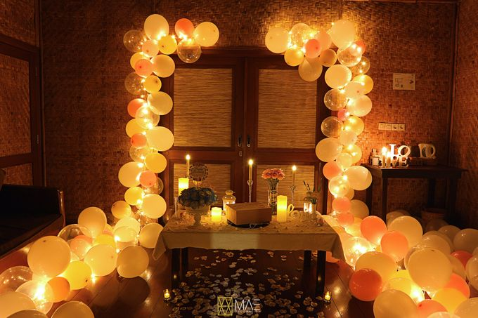 ROMANTIC SURPRISE FOR MISS ANGEL by MAE DECORATION - 001