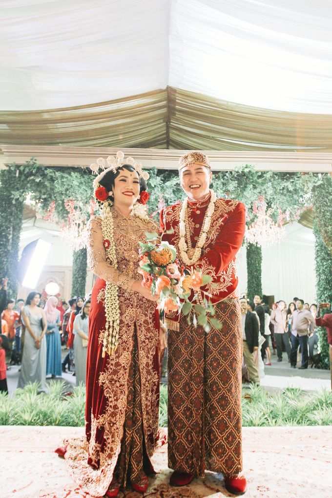 Adinda & Ramdisa Wedding Ceremony by JAYSU Weddings by Jacky Suharto - 004