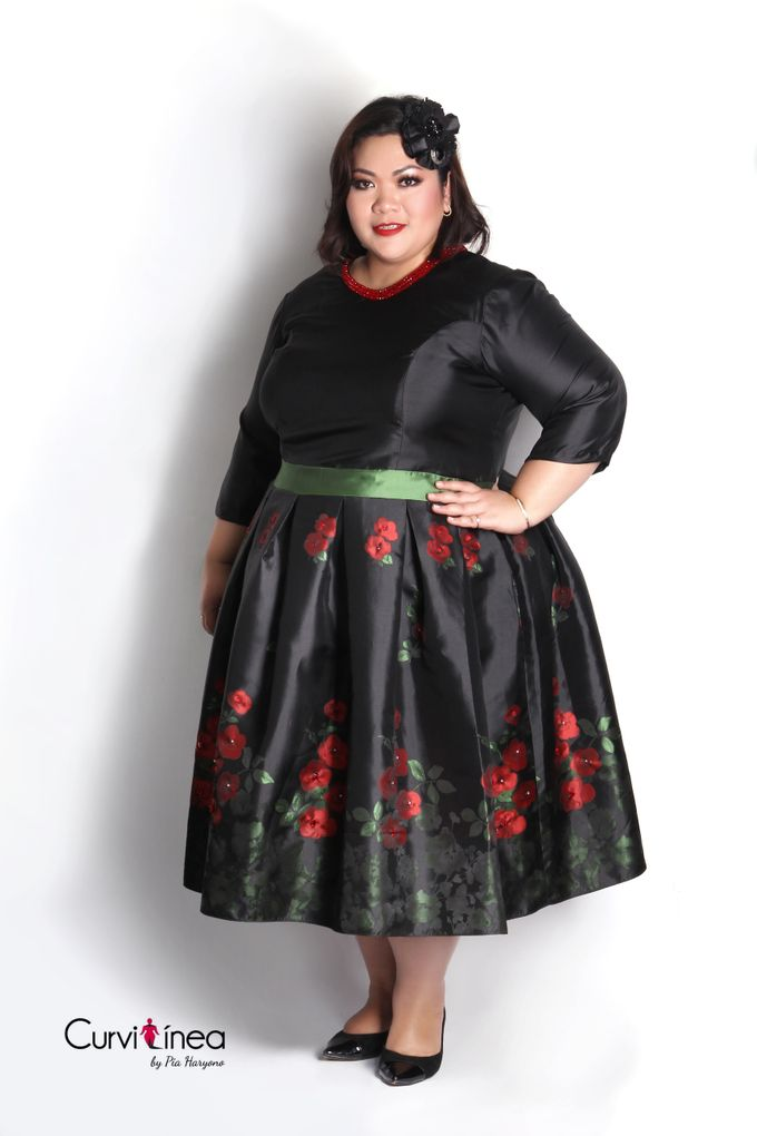 Our Exclusive Plus Size Kebaya and Formal Dress by Curvilínea by Pia Haryono - 012