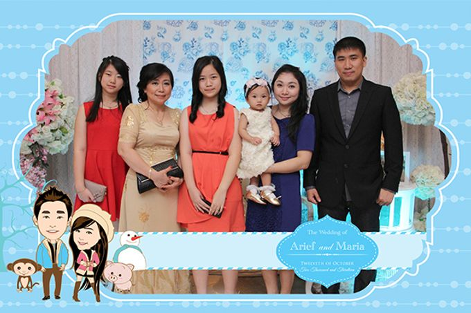 The Wedding of Arif & Maria by After 5 Photobooth - 001