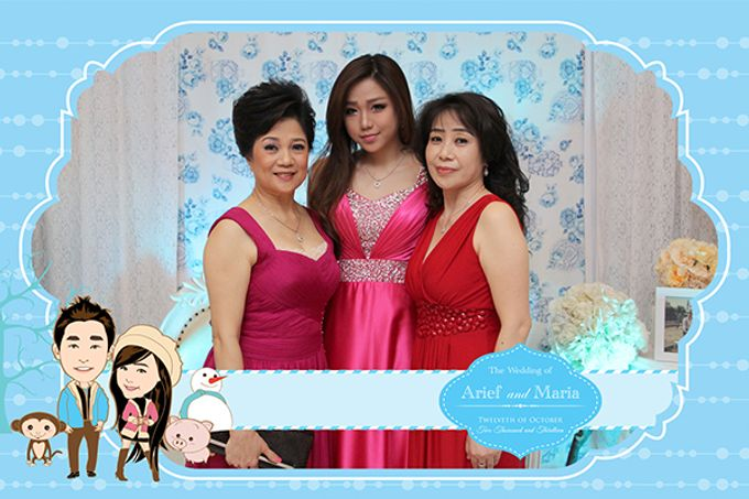 The Wedding of Arif & Maria by After 5 Photobooth - 002