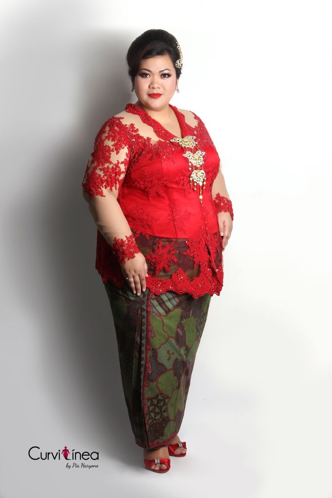 Our Exclusive Plus Size Kebaya and Formal Dress by Curvilínea by Pia Haryono - 013