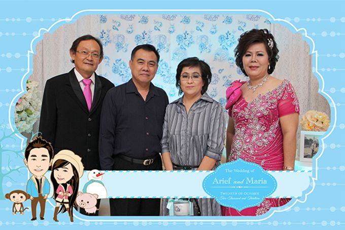 The Wedding of Arif & Maria by After 5 Photobooth - 003