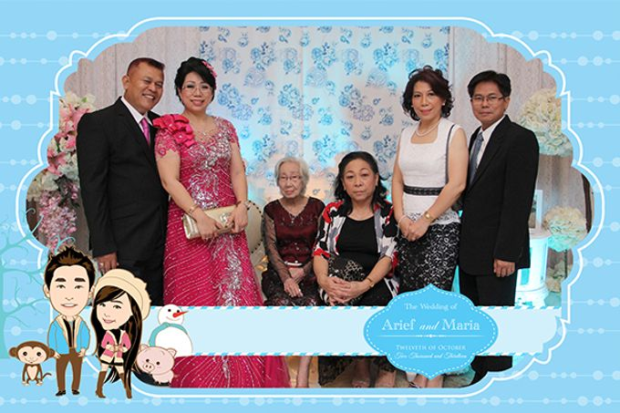 The Wedding of Arif & Maria by After 5 Photobooth - 004