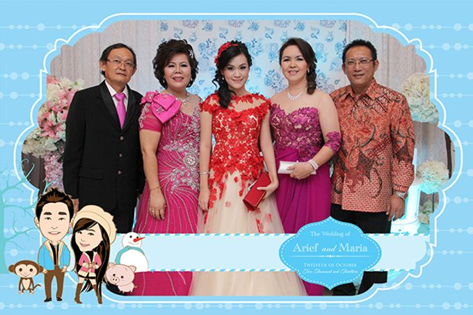 The Wedding of Arif & Maria by After 5 Photobooth - 005