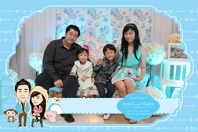 The Wedding of Arif & Maria by After 5 Photobooth - 006