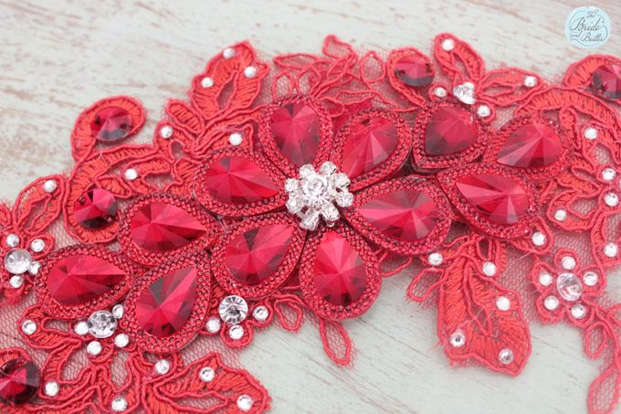 Custom Hairpiece by The Bride and Butter - 009