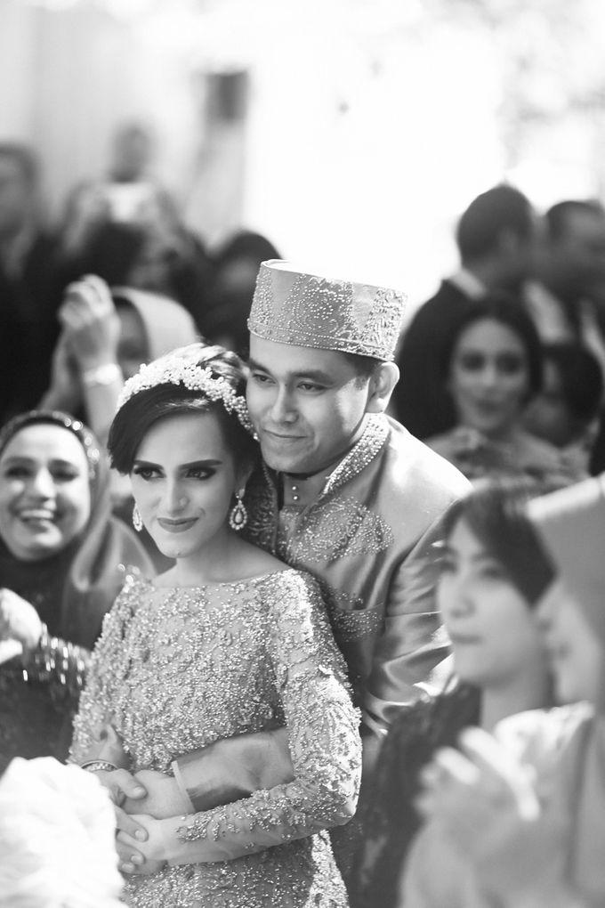 Saffana & Harish Wedding Reception by JAYSU Weddings by Jacky Suharto - 040
