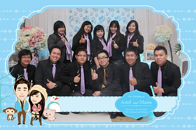 The Wedding of Arif & Maria by After 5 Photobooth - 008