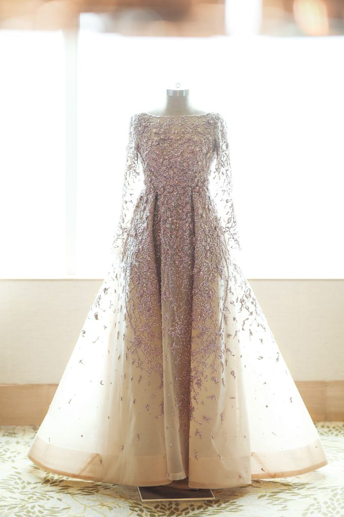 Saffana & Harish Wedding Reception by JAYSU Weddings by Jacky Suharto - 038