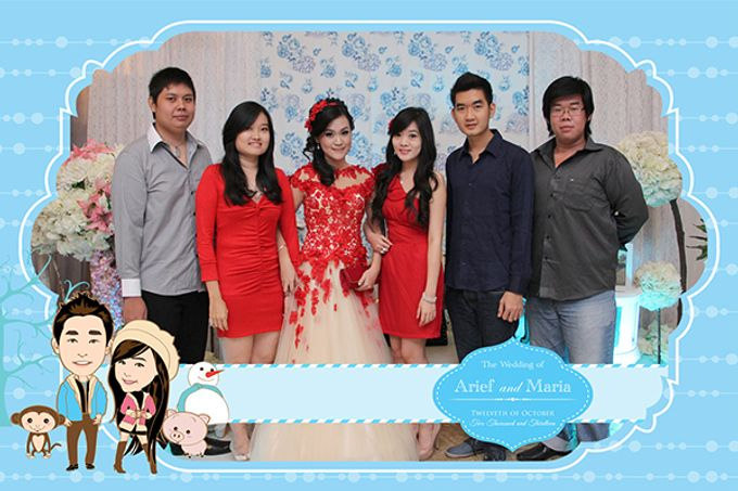 The Wedding of Arif & Maria by After 5 Photobooth - 011