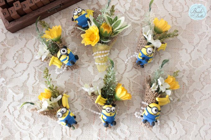 Custom Boutonniere / Corsage by The Bride and Butter - 028