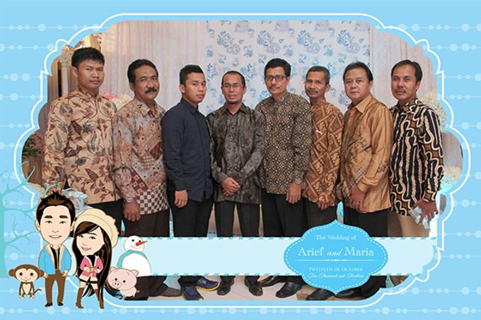 The Wedding of Arif & Maria by After 5 Photobooth - 012