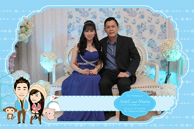 The Wedding of Arif & Maria by After 5 Photobooth - 013