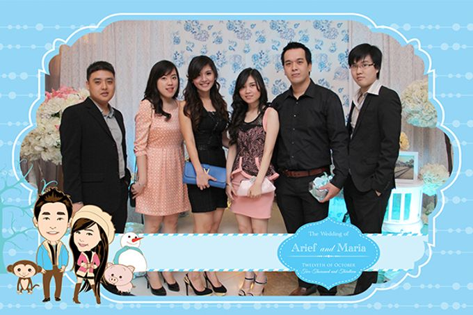 The Wedding of Arif & Maria by After 5 Photobooth - 014