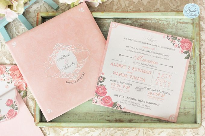 INVITATION - GARDEN ROSES by The Bride and Butter - 003