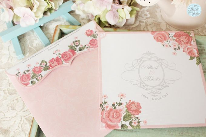 INVITATION - GARDEN ROSES by The Bride and Butter - 004
