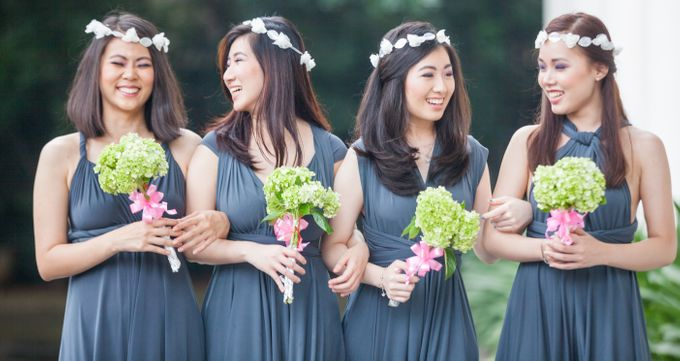 Malva Dress Simplicity Line by MALVA Bridesmaids - 002