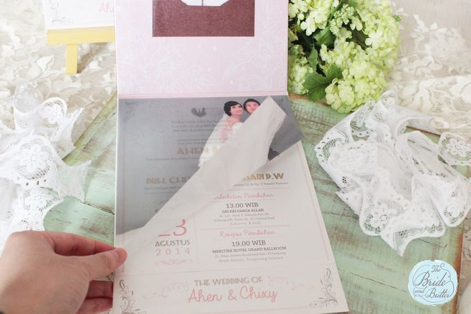 INVITATION - beautiful in pink by The Bride and Butter - 004