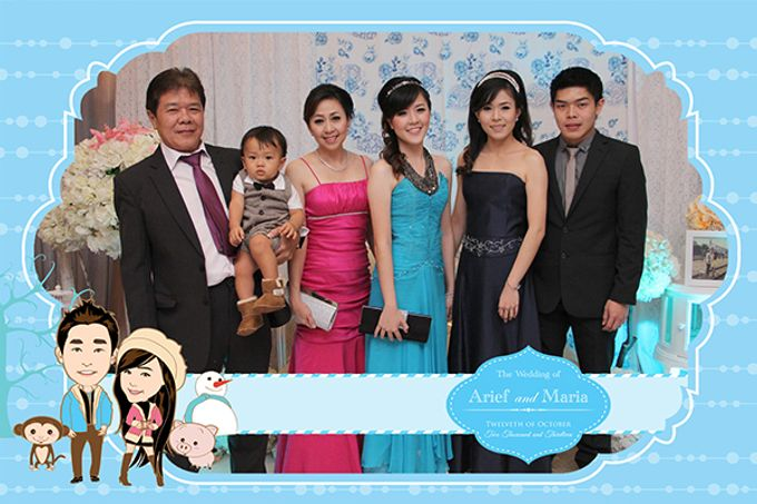The Wedding of Arif & Maria by After 5 Photobooth - 018