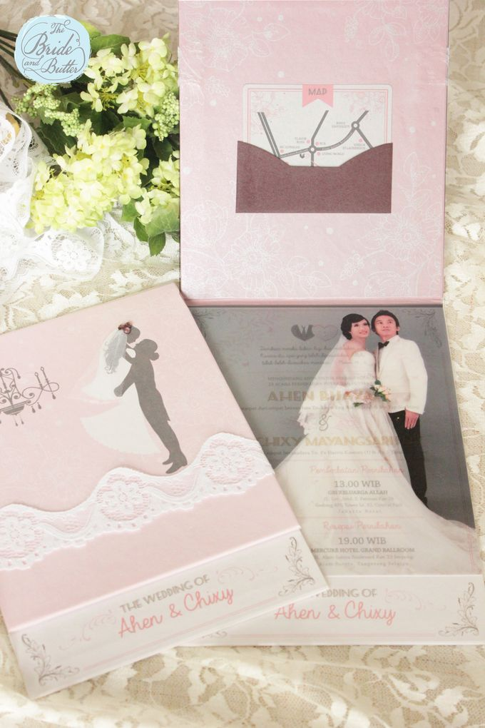 INVITATION - beautiful in pink by The Bride and Butter - 002