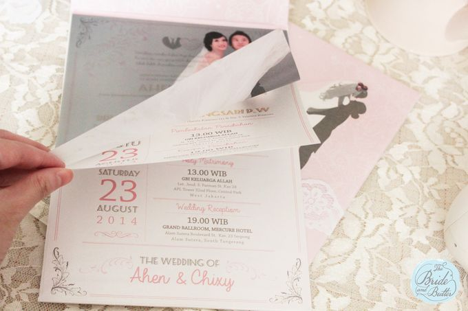 INVITATION - beautiful in pink by The Bride and Butter - 005
