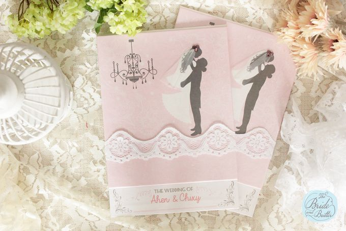INVITATION - beautiful in pink by The Bride and Butter - 001
