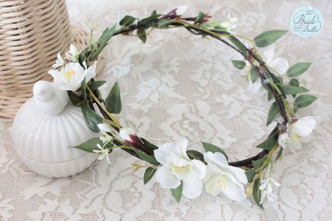 CUSTOM FLOWER CROWN by The Bride and Butter - 011