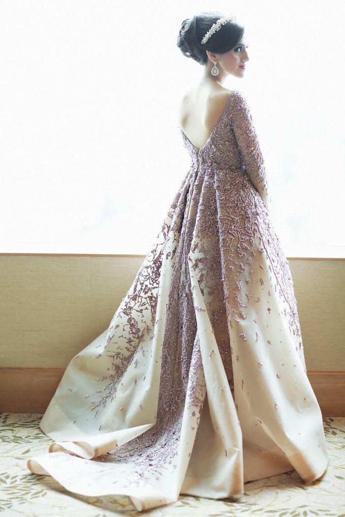 Saffana & Harish Wedding Reception by JAYSU Weddings by Jacky Suharto - 004
