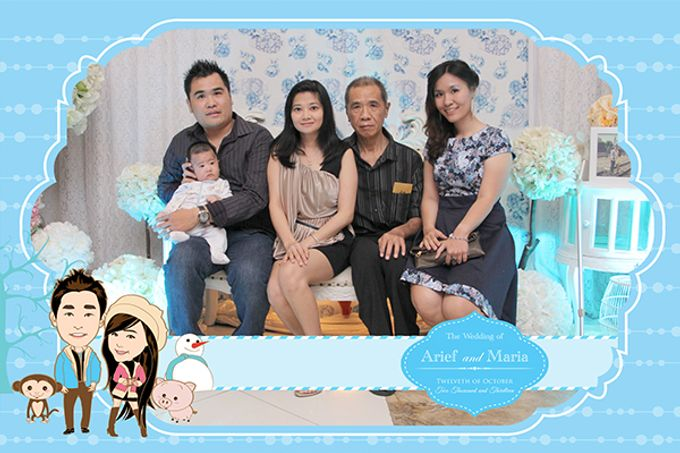 The Wedding of Arif & Maria by After 5 Photobooth - 019