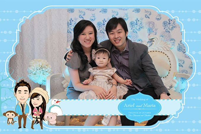 The Wedding of Arif & Maria by After 5 Photobooth - 021