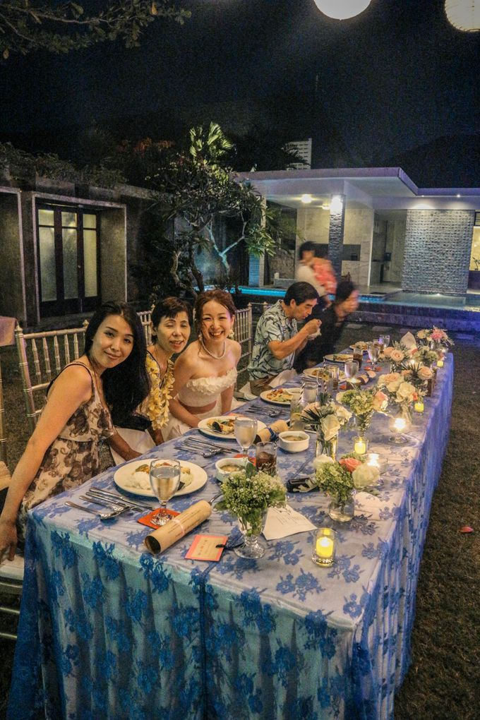 Nodoka & Naomichi Wedding Dinner by Alindra Villa - 029