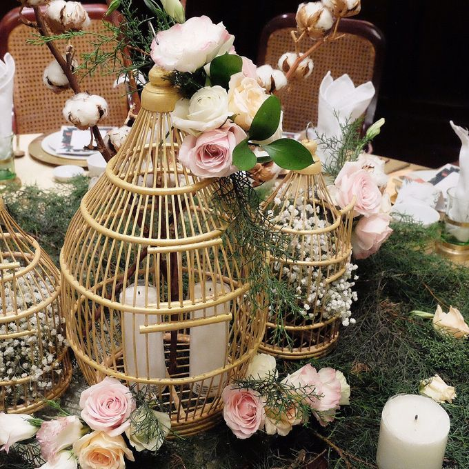 Table Decoration by Les Fleur Flower Design - 008