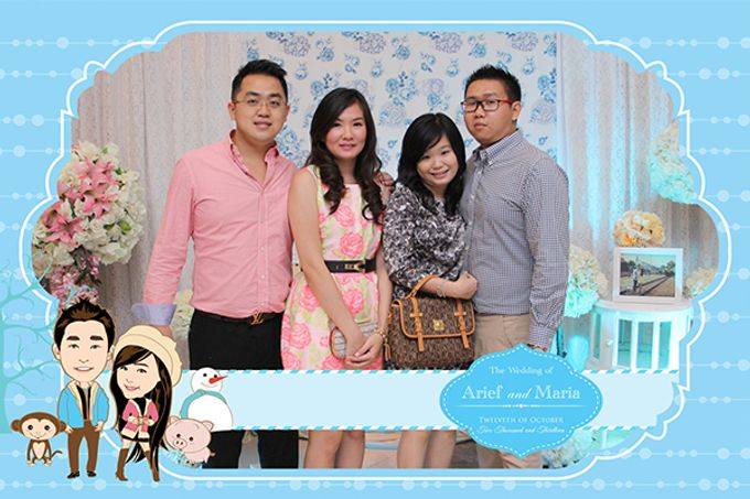The Wedding of Arif & Maria by After 5 Photobooth - 023