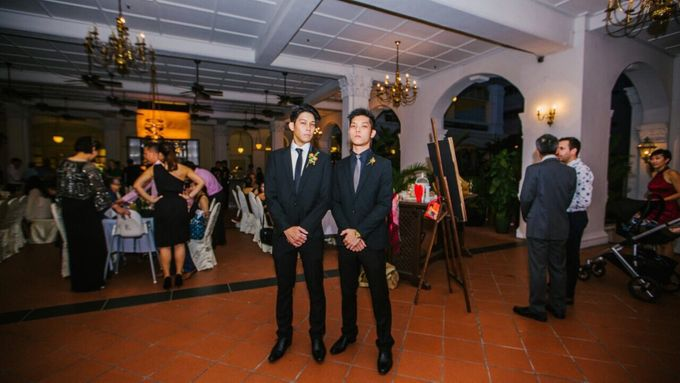 Wedding of Ian & Kelly @ Halia at Raffles Hotel by The Halia - 015