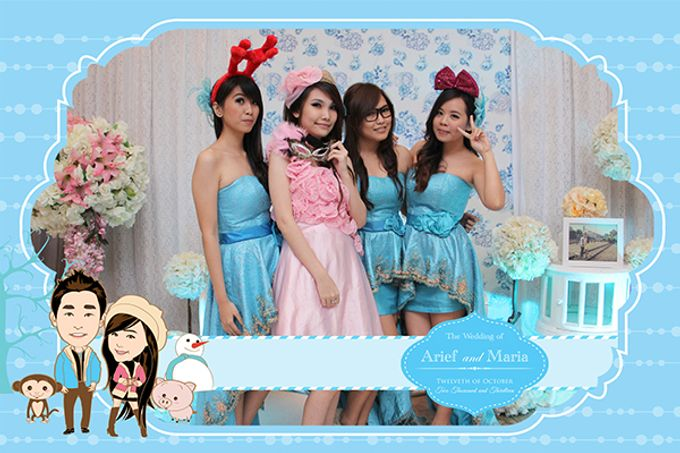 The Wedding of Arif & Maria by After 5 Photobooth - 024