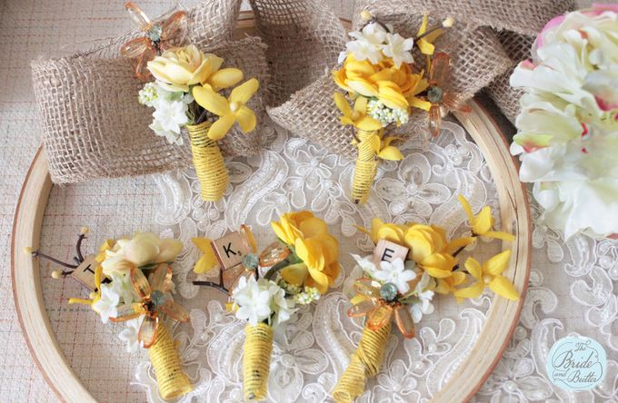 Custom Boutonniere / Corsage by The Bride and Butter - 034