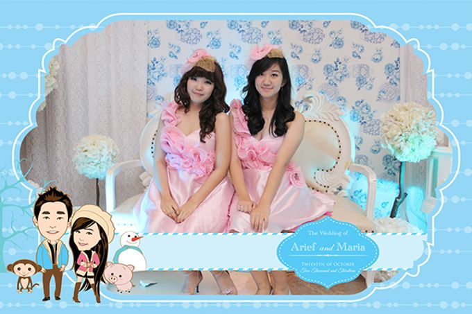 The Wedding of Arif & Maria by After 5 Photobooth - 025