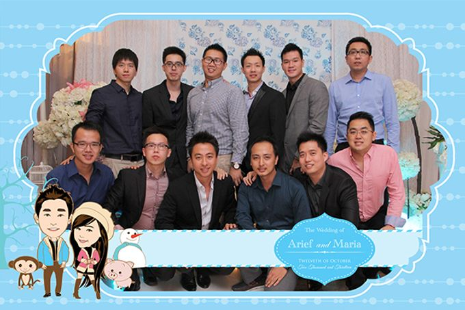 The Wedding of Arif & Maria by After 5 Photobooth - 026