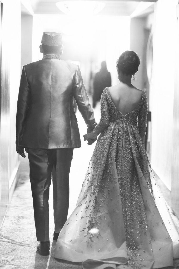 Saffana & Harish Wedding Reception by JAYSU Weddings by Jacky Suharto - 010