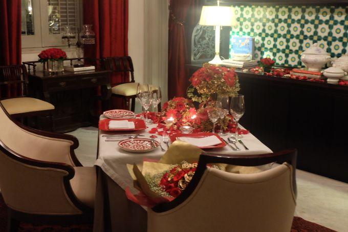 Table Decoration by Les Fleur Flower Design - 001