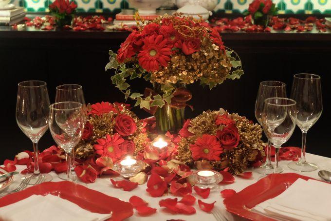 Table Decoration by Les Fleur Flower Design - 003