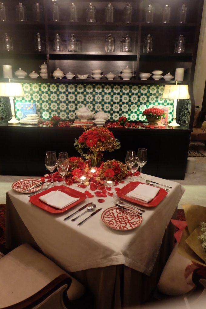 Table Decoration by Les Fleur Flower Design - 004