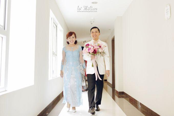 Tisya & Ferry - International Wedding by Imelda Hudiyono Bride - 009