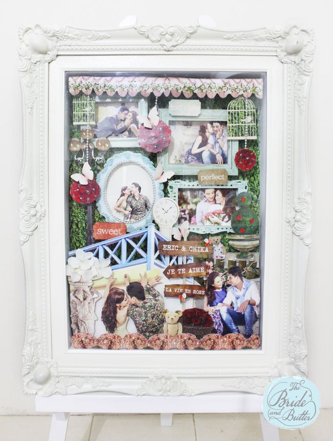 BIG SIZE scrapframe by The Bride and Butter - 004