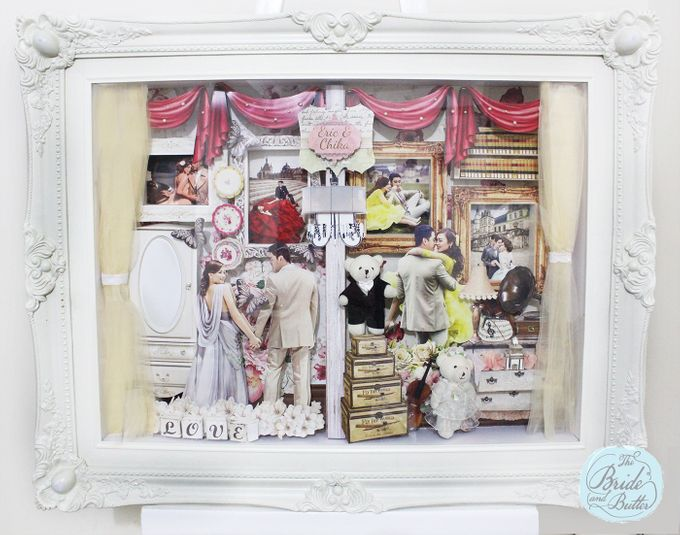 BIG SIZE scrapframe by The Bride and Butter - 005